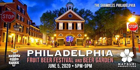 Philadelphia Fruit Beer Festival and Beer Garden tickets