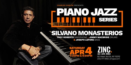 Piano Jazz Series: Silvano Monasterios tickets