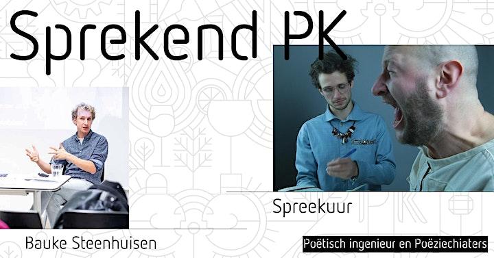 Afbeelding van uitgesteld: Sprekend PK #3: Poëtisch Ingenieur & Spreekuur