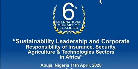Sustainability Leadership and Corporate Responsibility of Insurance, Security, Agriculture & Technologies Sectors in Africa  tickets