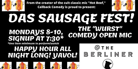 Das Sausage Fest Comedy Open Mic tickets