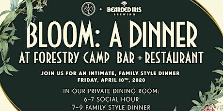 Bloom: A Dinner with Burial Beer Co. and Bearded Iris Brewing tickets