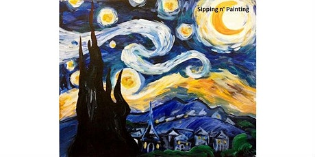 """""""Starry Night"""" - Wednesday, April 1st, 7:00PM, $25 tickets"""