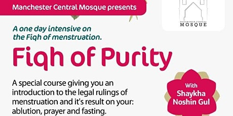 Ladies Fiqh of Purity - One Day Intensive tickets