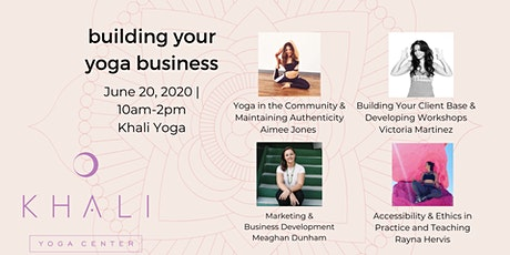 Building Your Yoga Business  tickets