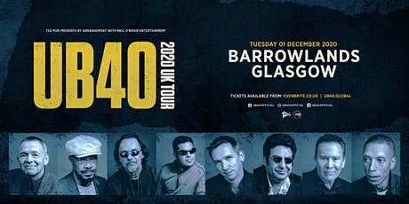 UB40 2020 (Barrowlands, Glasgow) tickets