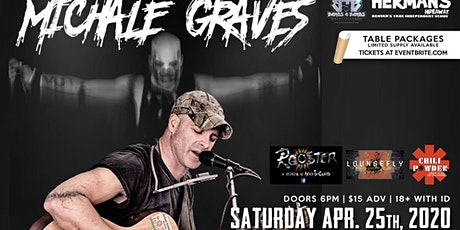 Michale Graves (Misfits Acoustic) *Covid 19 Update** New date coming soon** tickets