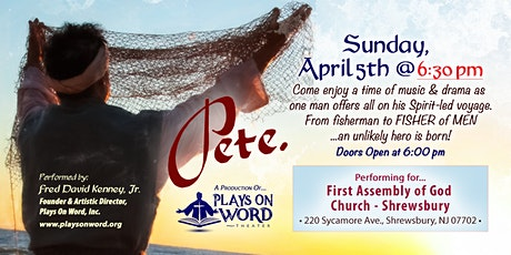 Pete. An Unlikely Hero Is Born tickets