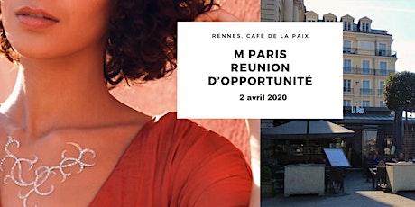 """Atelier découverte M Paris """"L'Art du bijou de peau"""" - Rennes billets"""