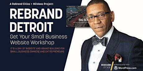 New Economy Initiative: Get Your Business Website - Detroit Cohort 3 tickets