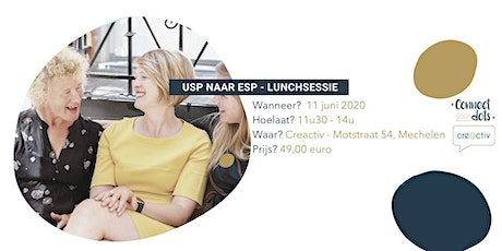 Van 'unique selling point' naar 'emotional selling point' - Lunch Sessie tickets