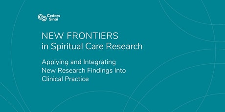 POSTPONED - New Frontiers in Spiritual Care Research tickets
