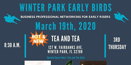 POSTPONED: Winter Park Early Birds tickets