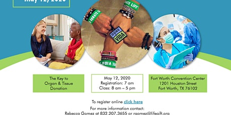 The Key to Organ & Tissue Donation - Fort Worth Convention Center tickets