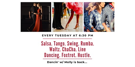 Postponed: Dancin' w/Molly | Learn the Tango and Salsa tickets