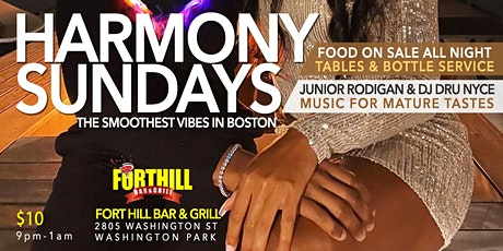 HARMONY SUNDAYS at Fort Hill Bar & Grill tickets
