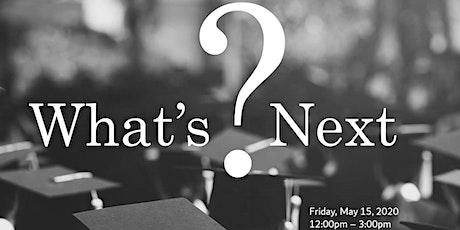 What's Next?  Teresa Eakman, LPCC, LADC and Patrick Parker, LMFT - a ZOOM Presentation tickets