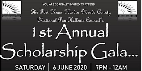 1st Annual Scholarship Gala tickets