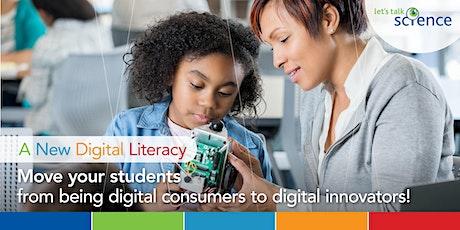 A New Digital Literacy for Educators tickets