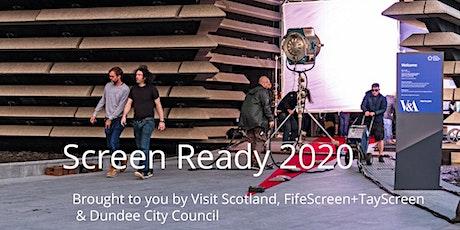 Screen Ready 2020 postponed/COVID-19 tickets
