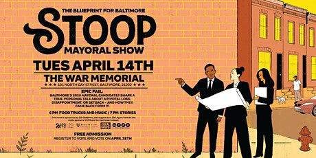 CANCELLED: Blueprint for Baltimore Stoop Mayoral Forum tickets