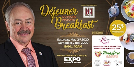 Dejeuner du maire/Mayor's Breakfast tickets