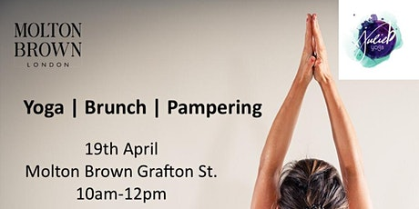 Yoga Brunch & Pampering with Molton Brown & JulieByoga tickets