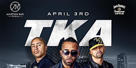 Martini Bar presents TKA Live tickets