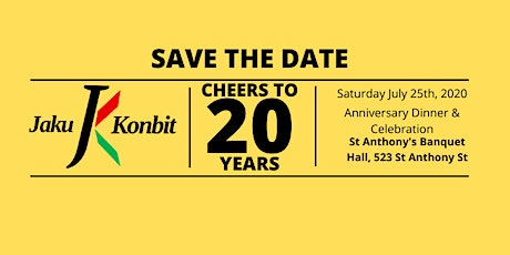 Jaku Konbit 20 Year Anniversary Dinner & Celebration tickets