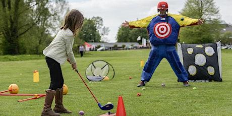 Eltern-Kind-Golf-Spaß für Eltern & Kinder (EKi) für Grundschulkinder ab 6 Jahren plus Sommerfest Tickets
