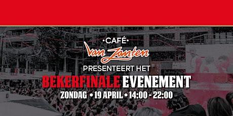 KNVB Bekerfinale | Café van Zanten tickets