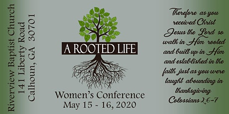 A Rooted Life Women's Conference tickets