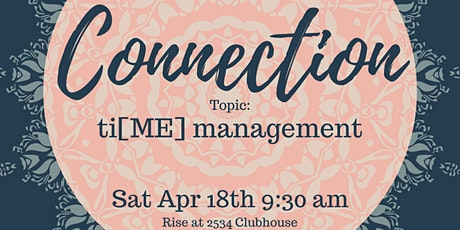 IOME Connection: Ti[ME] Management ZOOM tickets