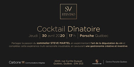 STEVINO - Cocktail Dînatoire billets