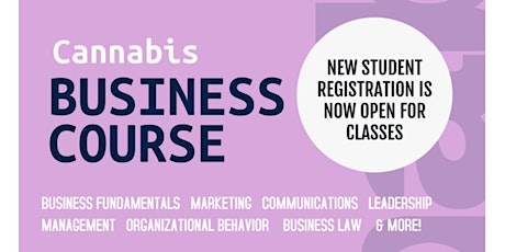 CannaBusiness Course tickets