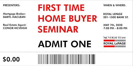 First Time Home Buyer Seminar Ottawa • Free tickets