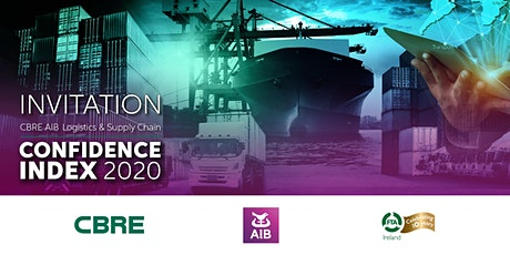 CBRE AIB Ireland Logistics  and Supply Chain Confidence Index Launch 2020 tickets