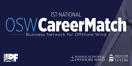 OSW CareerMatch | Job Fair for Careers in Offshore Wind Industries tickets