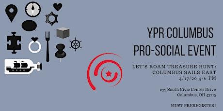 YPR Columbus Pro-Social Event: Let's Roam Treasure Hunt tickets