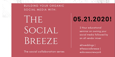 Building Your Organic Social Media tickets