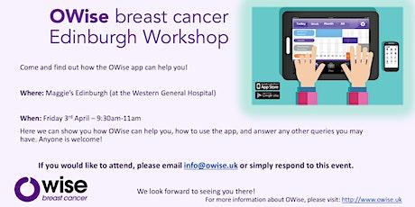 OWise breast cancer workshop (Edinburgh) tickets