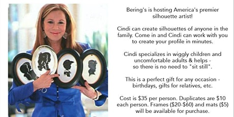 Silhouettes by Cindi at Bering's Bissonnet, 5/9 tickets