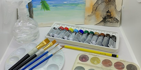 Watercolor For Beginners with Creatively Carrie tickets
