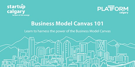 Business Model Canvas 101 tickets