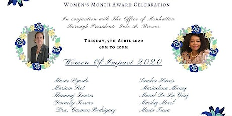 International Women's Month Award Celebration tickets