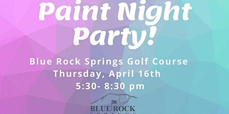 April Paint Night tickets