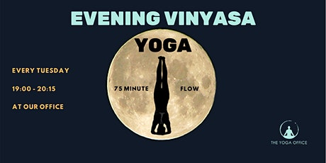 Evening Vinyasa Yoga | The Yoga Office tickets