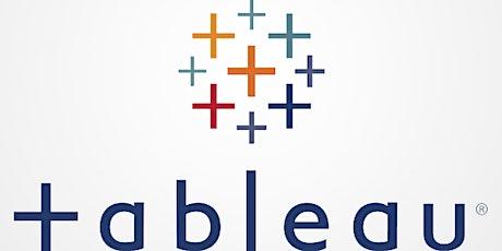 Introductory Workshop on Tableau Desktop & Tableau Server tickets