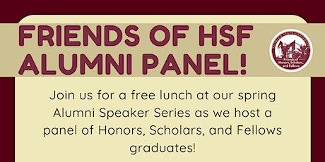 Friends of HSF Alumni Speaker Series Panel tickets
