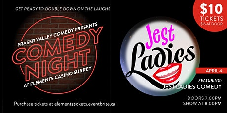 Comedy Night at Elements Casino Surrey tickets